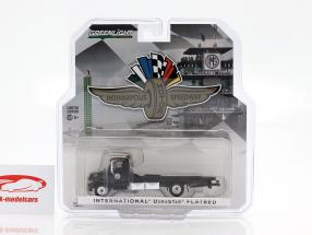 International DuraStar 4400 Flatbed Truck Indy 500 2019 1:64 Greenlight