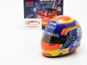 Alexander Albon Scuderia Toro Rosso STR14 #23 formula 1 2019 casco 1:2 Bell