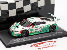 Audi R8 LMS #1 ADAC GT Masters 2017 De Phillippi, Mies 1:43 Minichamps