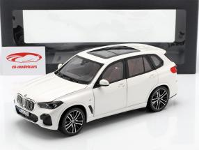 BMW X5 (G05) año de construcción 2018 alpino blanco 1:18 Norev