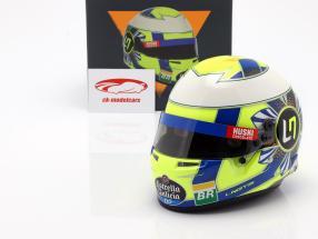 Lando Norris McLaren MCL34 #4 fórmula 1 2019 casco 1:2 Bell