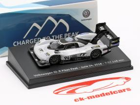 Volkswagen ID.R #94 Pikes Peak Record June 24th, 2018 7:57.148 min Romain Dumas 1:87 Spark