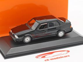 Alfa Romeo 75 V6 3.0 America anno di costruzione 1987 nero 1:43 Minichamps