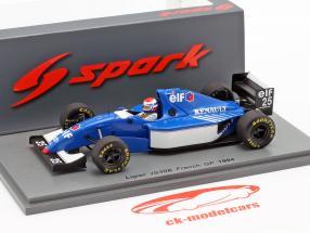 Eric Bernard Ligier JS39B #25 Frans GP formule 1 1994 1:43 Spark