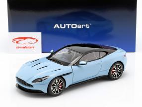 Aston Martin DB11 coupe Opførselsår 2017 lyseblå metallisk 1:18 AUTOart