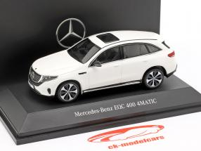 Mercedes-Benz EQC 400 4MATIC (N293) Bouwjaar 2019 polarwit 1:43 Spark
