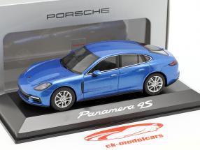 Porsche Panamera 4S (2. Gen.) Année 2016 saphir bleu métallique 1:43 Herpa