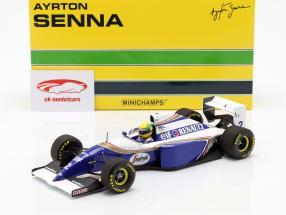 Ayrton Senna Williams FW16 #2 San Marino GP fórmula 1 1994 1:18 Minichamps
