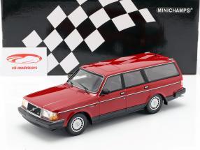Volvo 240 GL Break Opførselsår 1986 rød 1:18 Minichamps