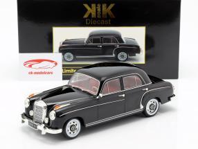 Mercedes-Benz 220 S berline (W180II) année de construction 1956 noir 1:18 KK-Scale
