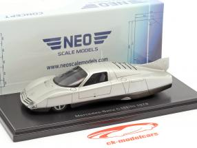 Mercedes-Benz C111-III Concept Car 1978 argento 1:43 Neo