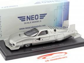 Mercedes-Benz C111-IV Concept Car 1979 plata 1:43 Neo