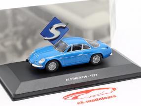 Alpine A110 Berlinette Bouwjaar 1973 blauw 1:43 Solido
