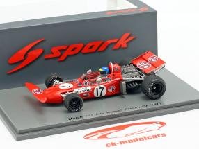 Ronnie Peterson March 711 #17 français GP formule 1 1971 1:43 Spark