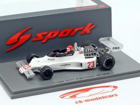 Lamberto Leoni Ensign N177 #23 Argentijnse GP Formule 1 1978 1:43 Spark