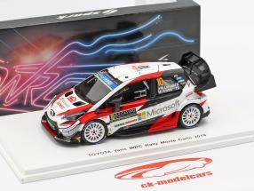 Toyota Yaris WRC #10 5 ° Rallye Monte Carlo 2019 Latvala, Anttila 1:43 Spark