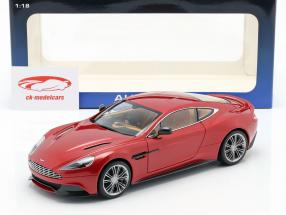 Aston Martin Vanquish année 2015 volcan rouge 1:18 AUTOart