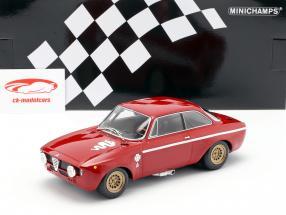 Alfa Romeo GTA 1300 Junior année de construction 1971 rouge 1:18 Minichamps