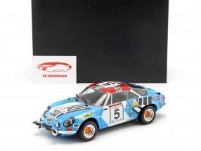 Alpine A110 #5 segundo Rallye Tour de Corse 1973 Piot, De Alexandris 1:18 Kyosho