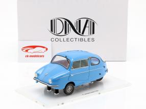 Fuldamobil S6 Opførselsår 1956 blå 1:18 DNA Collectibles
