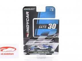 Takuma Sato Honda #30 IndyCar Series 2019 Rahal Letterman Lanigan Racing 1:64 Greenlight