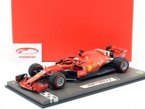 Sebastian Vettel Ferrari SF71H #5 50º GP Ganar Canadá GP fórmula 1 2018 1:18 BBR
