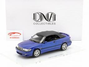 Saab 9-3 Viggen Convertible Opførselsår 1999 mørkeblå 1:18 DNA Collectibles