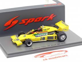Emerson Fittipaldi Copersucar FD04 #28 4 ° Brasile GP formula 1 1977 1:43 Spark