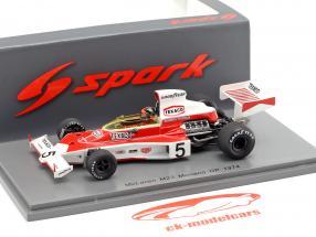 Emerson Fittipaldi McLaren M23 #5 wereldkampioen Monaco GP formule 1 1974 1:43 Spark