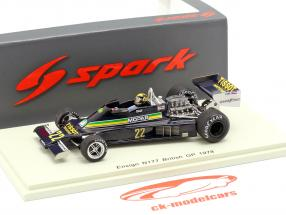 Derek Daly Ensign N177 #22 Great Britain GP formula 1 1978 1:43 Spark