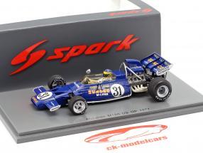 David Hobbs McLaren M19A #31 EE.UU. GP fórmula 1 1971 1:43 Spark