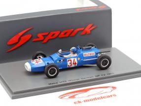 Jean-Pierre Beltoise Matra MS5 #34 Vinder Tyskland GP formel 2 1966 1:43 Spark