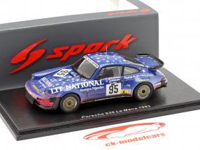 Porsche 930 #95 24h LeMans 1983 J. Almeras, J-M. Almeras, Guillot 1:43 Spark