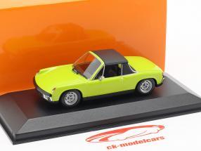 Volkswagen VW-Porsche 914/4 anno di costruzione 1972 verde 1:43 Minichamps
