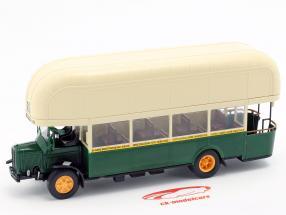 Renault TN4F autobús Francia año de construcción 1940 verde oscuro / beige 1:43 Altaya