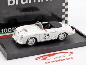 Porsche 356 Speedster #23F palma Springs strada gara 1955 James Dean 1:43 Brumm