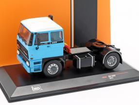 DAF 2800 ano de construção 1975 azul / preto 1:43 Ixo