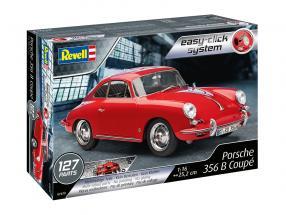 Porsche 356 B Coupe Bausatz rot 1:16 Revell
