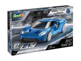 Ford GT year 2017 kit blue 1:24 Revell