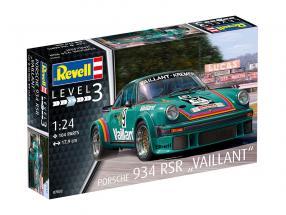 Porsche 934 RSR Vaillant #9 estojo 1:24 Revell