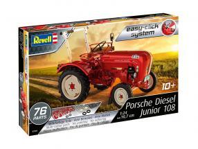 Porsche Diesel Junior 108 uitrusting rood 1:24 Revell