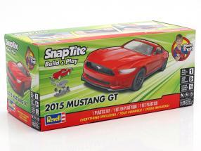 Ford Mustang GT Opførselsår 2015 kit rød 1:25 Revell