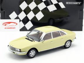 NSU Ro 80 Year 1972 yellow 1:18 Minichamps