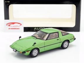 Mazda Savanna RX-7 (SA) GT-Limited year 1978 green 1:18 AUTOart