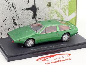 Maserati 124 Coupe 2+2 Italdesign ano de construção 1974 verde 1:43 AutoCult
