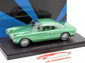 Chevrolet Biscayne XP-37 Bouwjaar 1955 groen 1:43 AutoCult