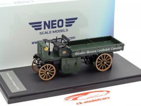 Daimler Motor-Lastwagen año de construcción 1898 verde oscuro 1:43 Neo