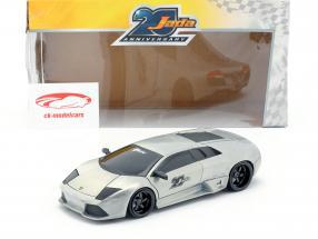 Lamborghini Murcielago gris plata 1:24 Jada Toys