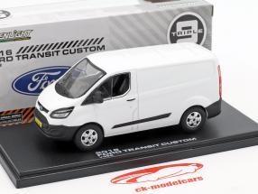 Ford Transit Custom V362 Opførselsår 2016 hvid 1:43 Greenlight