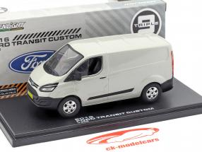 Ford Transit Custom V362 Baujahr 2016 silber metallic 1:43 Greenlight